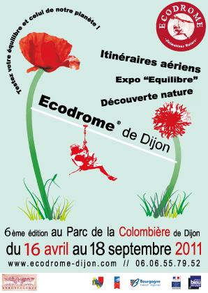 Activité Dijon : Ecodrome ou comment sensibiliser les citoyens à la nature