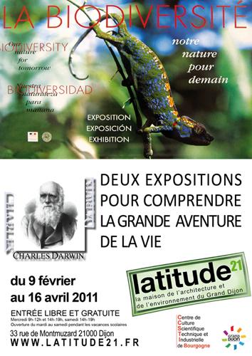 Exposition Dijon : Biodiversité et Darwin