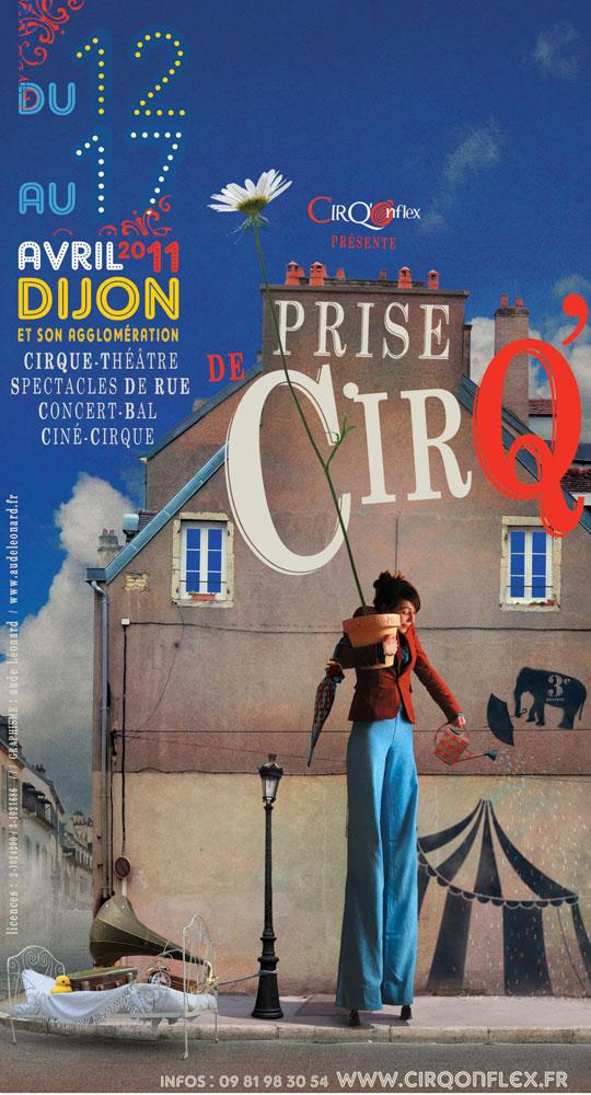 Evènement Dijon : Festival Dijonnais Prise de CirQ' 2011