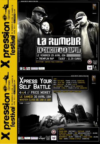 Festival Dijon : Festival XPRESSION 3ème édition