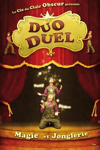 Spectacle Dijon : Duo duel de la Cie Clair Obscur