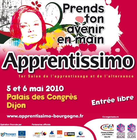 Evènement Dijon : Salon Apprentissimo 2ème édition