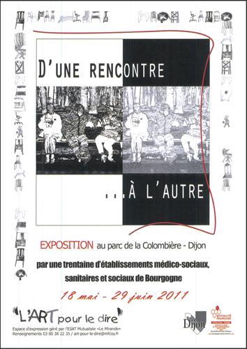 Exposition Dijon : L'art pour le dire