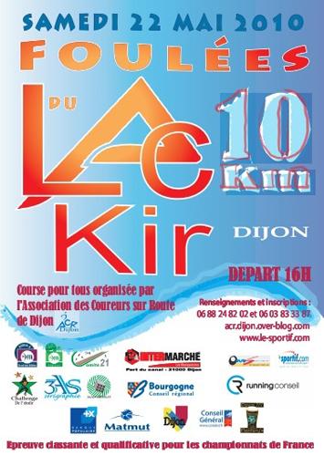 Sport Dijon : Les Foulées du Lac Kir