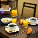 Petit déjeuner à l'Hotel des Ducs