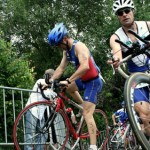 Sports Dijon Triathlon au Lac Kir