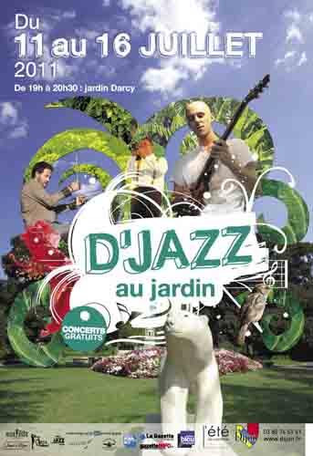 Evènement Dijon : D'jazz au jardin