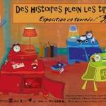 Exposition des histoires plein les tiroirs à Dijon