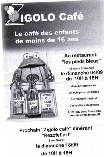 Activité Dijon : Zigolo Café