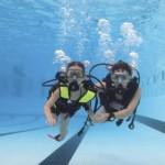 Plongée à la piscine Olympique de Dijon