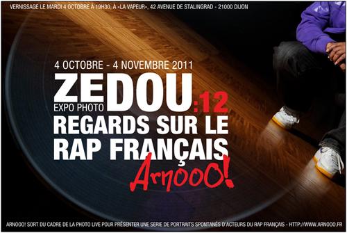 Exposition Dijon : Zedou – 12 regards sur le rap français