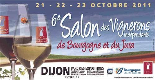 Evènement Dijon : Salon des vignerons indépendants édition 2011