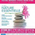 Salon Naturessentielle 2011 au Parc des Expositions à Dijon