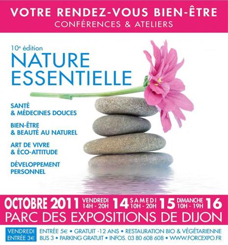 Evènement Dijon : Salon dédié au bien-être Naturessentielle