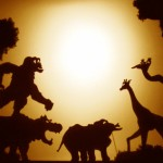 Spectacle d'Enfant d'éléphant à la grande Orangerie