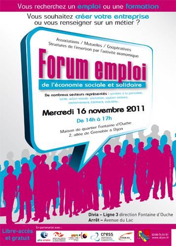 Evènement Dijon : Forum emploi 2011