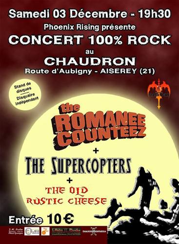 Concert Dijon : 100% ROCK !