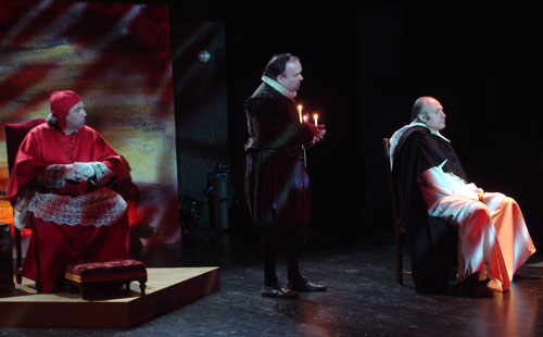 Théâtre Dijon : La Controverse de Valladolid