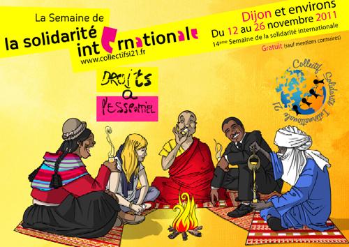 Evènement Dijon : La Semaine de la solidarité internationale