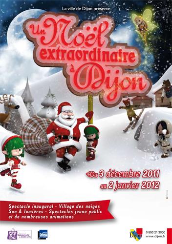 Evènement Dijon : Féérie 2011, spectacle son et lumières