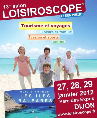 Evènement Dijon : Loisiroscope 2012