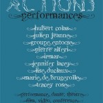 Dijon Festival Actions Performances, Athéneum, Consortium, Ecole Supérieure d'Arts