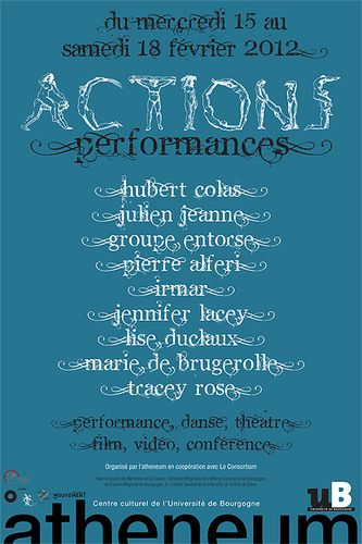 Festival Dijon : Actions Performances