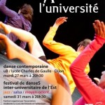Evnement Dijon : Danses  l&rsquo;Universit