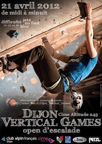 Sport Dijon : Vertical Games 2012