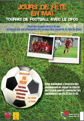Activité Dijon : Tournoi de football avec le DFCO