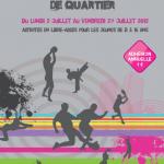 Dijon Activité : Animation sportives de quartier