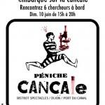 Dijon Activité : L'Experimentarium, Péniche Cancale