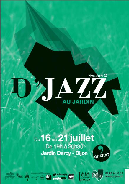 Evènement Dijon : D'jazz au jardin 2012