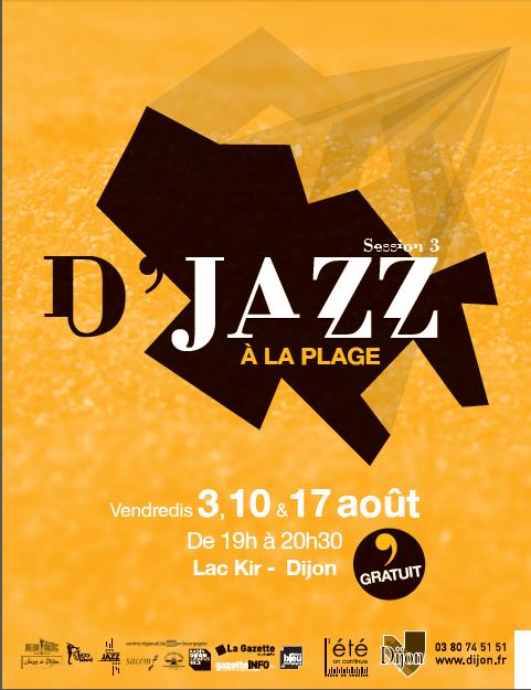 Concert Dijon : D'jazz à la plage 2012