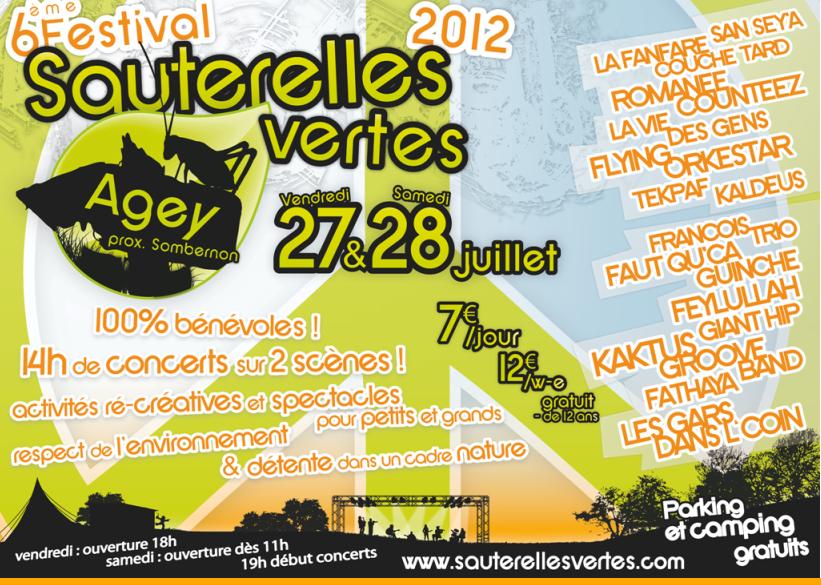 Evènement : Les Sauterelles Vertes 2012