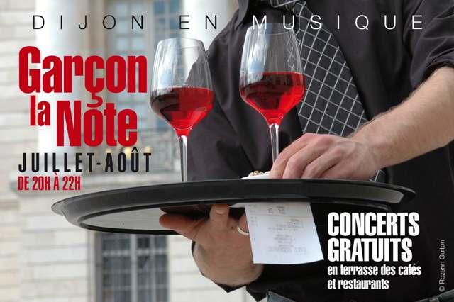 Festival Dijon : Garçon la Note 2012