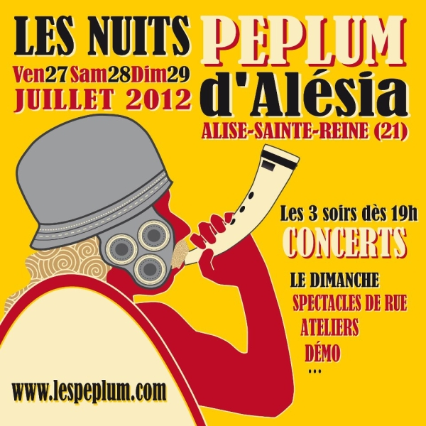Festival : Les Nuits Peplum d'Alésia 2012