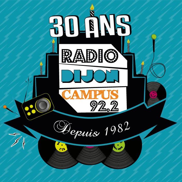 Evènement Dijon : Radio Campus fête ses 30 ans