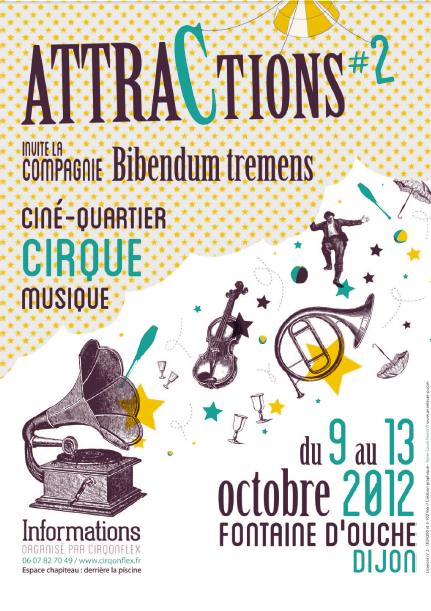 Evènement Dijon : Attractions #2 (2012)