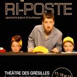 Dijon Spectacle Riposte au Théâtre des Grésilles