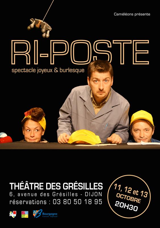 Spectacle Dijon : Ri-Poste