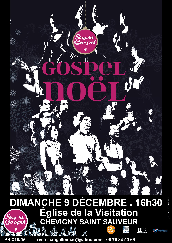 Evènement Dijon : Singall Gospel chante Noël !
