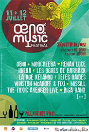 Nouveau : Oeno Music Festival 2014