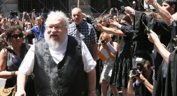 L'auteur de « Game of Thrones », George R. R. MARTIN est venu à Dijon…