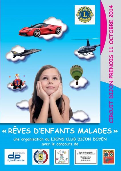 Opération «Rêves d'enfants malades» le 11 octobre 2014 à Prenois