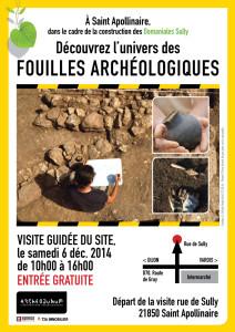 Journée Archéologique le 6 décembre 2014