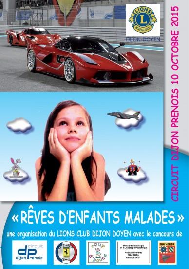 RÊVES D'ENFANTS MALADES – Samedi 10 Octobre 2015