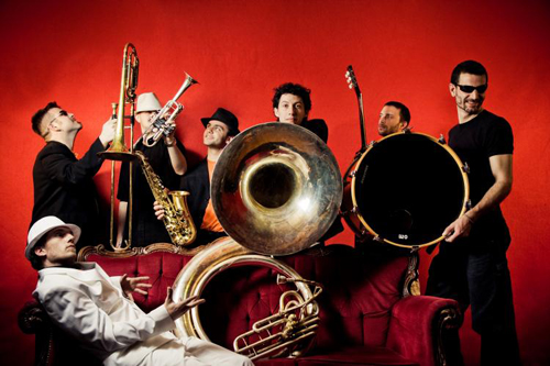 Concert Dijon : Youngblood Brass Band / Kaktus Groove Band