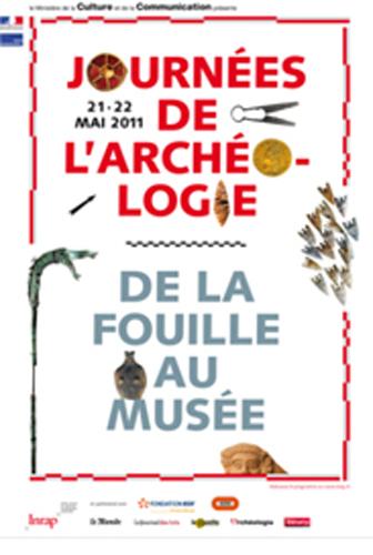 Activité Dijon : Journées nationales de l'archéologie