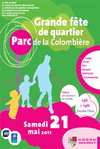 Evènement Dijon : Grande fête de quartier Parc de la Colombière